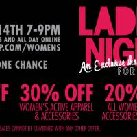 Active Ladies Night Event