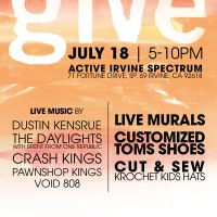 A Give Event with Toms and Krochet Kids - July 18th!!!