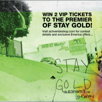 Free VIP Tickets to the Stay Gold Premier!