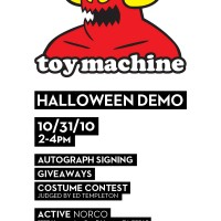 3rd Annual Toy Machine Halloween Demo
