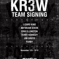 Krew BBQ and Signing