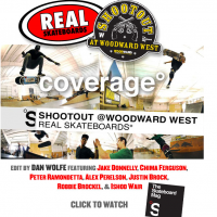 The Shootout at Woodward West with Real Skateboards