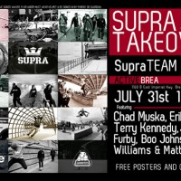 Supra Team Signing Brea Active July 31st 1pm