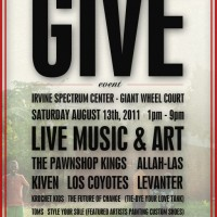 The GIVE Event with TOMS Shoes + Krochet Kids