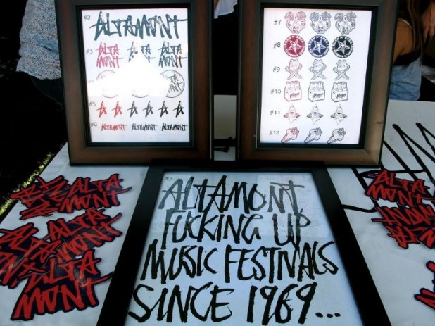 Altamont's custom Screen Printing booth