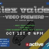 Alex Valdez Video Premiere