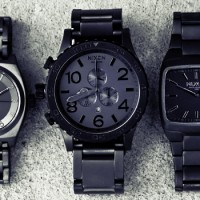 Nixon Gunmetal Collection