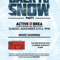 6th Annual Back to Snow Party!