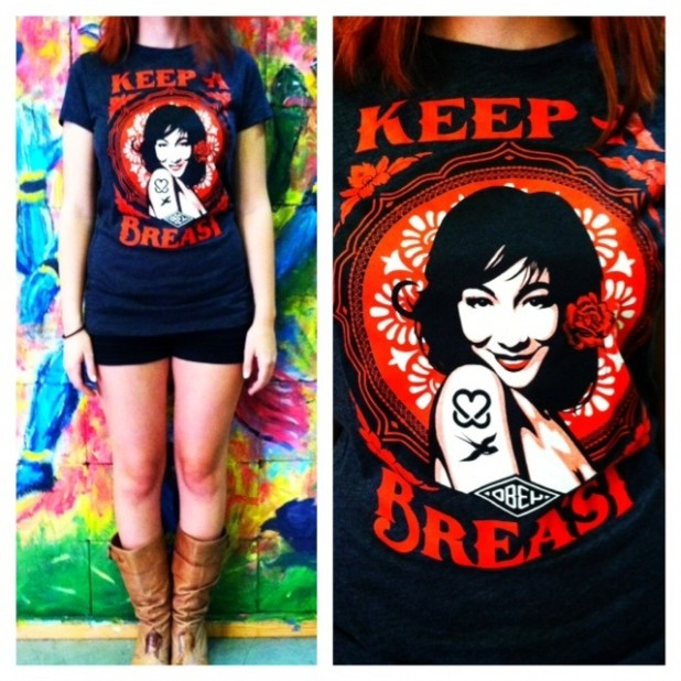 The Keep A Breast Women's Tee