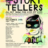Milk & Cookies Art Show: The Story Tellers + Tee-Shirt Contest