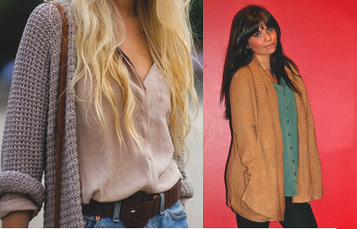 From Active (on the right): Toska Cardigan, O'Neil blouse, Flying Monkey denim