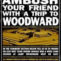 Win A Trip To Woodward!